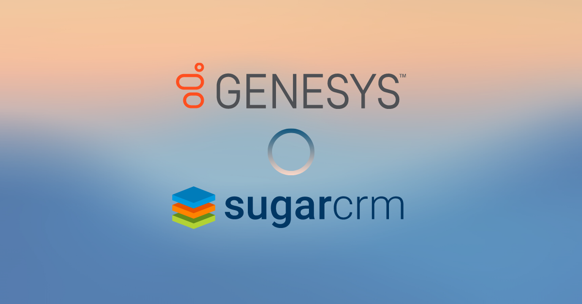 Genesys Contact Centre System Integration with SugarCRM for a Service-Based Company