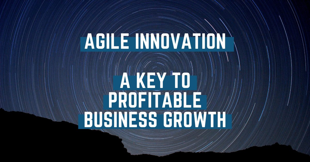 Agile Innovation –  A Key To Profitable Business Growth